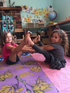 3 Fun Kids Yoga Partner Poses